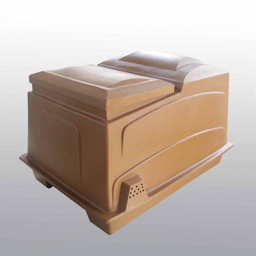 combi box brown